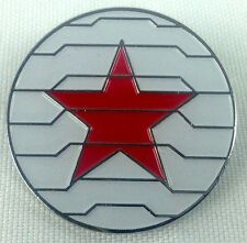 Winter Soldier Marvel Comics and Movie Series - Enamel Pin - Avengers!  Bucky