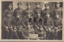 WW1 soldier group 352 Electrical & Mechanical Company Royal Engineers in France