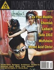 Industrial NatioN Magazine #20 Velvet Acid Christ, Muslimgauze, Der Blutharsch +