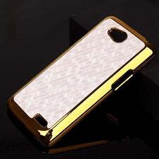 For LG Optimus L90 Luxury Chrome Design hard case Back Cover