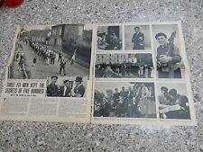 BEAUMESNIL AMAZING 2 PAGES OF PHOTOGRAPHS OF RESISTANCE FFI FIGHTERS ETC