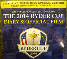 LTD EDITION 3 DVD NEW SEALED. RYDER CUP 2014 GOLF + Bonus Disc. Help Forget 2016