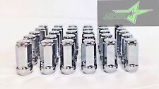 "24 CHROME TOYOTA LUG NUTS | FITS ALL 6 LUG | 1.9"" TALL 