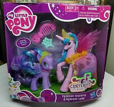 NIB My Little Pony FiM G4 ~Princess Celestia & Luna~ Canterlot Target Excl Lot