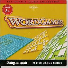 BRITANNICA FAMILY COLLECTION WORDGAMES PC CD-ROM