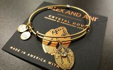 ALEX AND ANI CRYSTAL DOVE RAFAELIAN GOLD BRACELET NEW