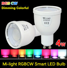 MiLight RGB Dimmable Smart  E27 GU10 Led Bulb 4/6/9W Light  2.5G Lamp AC85-265V