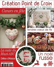 French cross stitch magazine Creation point de croix No.34
