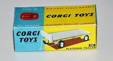 Reprobox Corgi Toys Nr. 101 - Platform Trailer