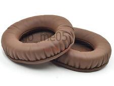 Brown cushioned ear pads for Denon DN HP1000 DN-HP700 DJ HP700 Headphones
