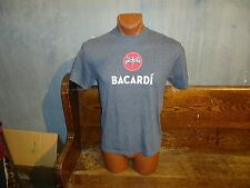 Bacardi gray large t-shirt, private family-owned spirits company, brand of rum