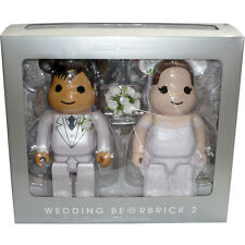 Medicom Be@rbrick Bearbrick Greeting Marriage 2 PLUS exclusive 400% Figure Set
