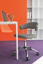 Calligaris Office - Chair New York CS 624 LH Real leather in 8 on sale now