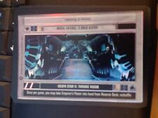 Star Wars CCG Reflections II Death Star II: Throne Room FOIL NON-MINT SWCCG