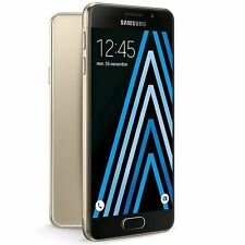 SAMSUNG GALAXY A3 6 SM-A310F GOLD 16GB FACTORY UNLOCKED 2016 MODEL