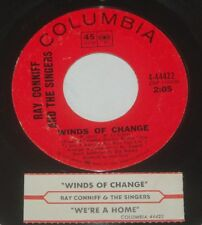 Ray Conniff and the Singers 45 Winds Of Change / We're A Home  w/ts