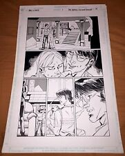 BALL AND CHAIN ORIGINAL ART PAGE BY ALE GARZA SPLASH PAGE DC HOMAGE COMICS #9