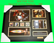 SALE!!!  DOCTOR WHO MOVIE MEMORABILIA SIGNED LIMITED EDITION 499