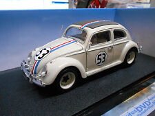 VW Volkswagen Beetle Käfer HERBIE 1962 #53 Kino Movi Hot Wheels Found 1:18