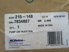 New GM OEM ACDelco 7834887 Smog Pump Air Injection Pump 215-148 NOS (11-C2)