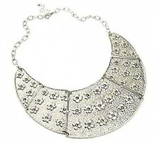 Ethnic Tribal Egyptian Pharaoh Cleopatra Collar Necklace w/ Swarovski Crystals