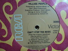 "Village People ""Can't Stop The Music"" Classic Hit Oz 7"""