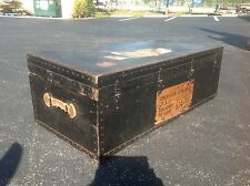 RARE US AMERICAN EMBASSY TRUNK CHEST FOOT LOCKER COLOMBO CEYLON VINTAGE OLD $299