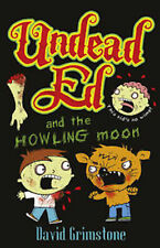 DAVID GRIMSTONE _ UNDEAD ED AND THE HOWLING MOON Libro en Inglés Nuevo s/Usar