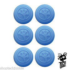 Grip-iT Analog Stick Covers - PS4, PS3, Xbox360, & Xbox One - 6-Pack (BLUE)