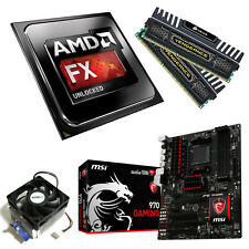 AMD FX 8350 Eight Core 4.20GHz 16GB Vengeance MSI 970 Gaming Motherboard Bundle
