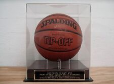Display Case For Your Stephen Curry Golden State Warriors Signed Basketball