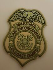USCG badge patch Coast Guard DHS multicam velcro DSF DOG MSRT TACLET