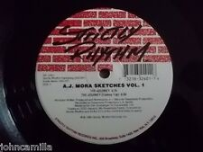 "A.J. MORA - SKETCHES VOL. 1 12"" RECORD / VINYL - STRICTLY RHYTHM - SR 12401"