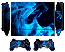 Fire 261 Skin Sticker for PS3 PlayStation 3 Super Slim with 2 controller skins
