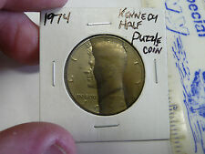 1974 KENNEDY HALF DOLLAR PUZZLE COIN
