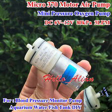 DC 3V~12V 5V 6V 9V Small Mini 370 Motor Air Pump Oxygen Pump Aquarium Fish Tank