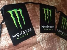 MONSTER ENERGY DRINKS PENNANT BANNER 25' LONG MOTOCROSS