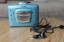 OHAYO AM/FM Stereo Cassette Player  Radio Portable Earbuds Tape Music with Speak