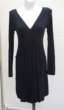 Robe Manches Noire Manches Longues Double One Taille M