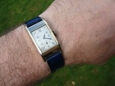Cyma 3335 cal Art Deco 1935 15j Mens watch solid 9ct gold working well WW2 era