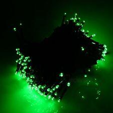 LederTek Green Solar 100 LED Fairy Light String Wedding Party Outdoor Garden
