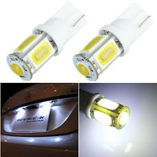 2x T10 501 194 W5W 5 LED COB SMD Car License Plate Side Light Bulb White 12V NEW