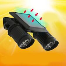 HOT 14LED Solar Motion Sensor Light PIR Auto Spotlight Rotation Lamp Garden Wall