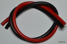 1 Foot Each Red & Black 10awg Silicone Wires: XT90, EC5, 5.5MM, HXT 6MM, 8MM etc