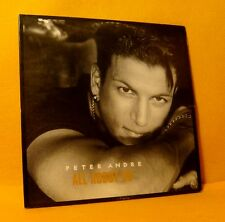 Cardsleeve Single CD PETER ANDRE All About Us 2TR 1997 r & b swing reggea pop