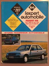 Revue Technique L'expert Automobile PEUGEOT 309 Essence et Turbo Diesel