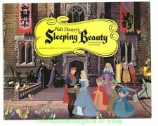 SLEEPING BEAUTY Lobby Card Size 11x14 Movie Poster R1970 TITLE CARD DISNEY !!