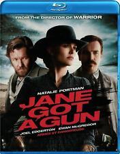 Jane Got a Gun (Blu-ray) Natalie Portman, Ewan McGregor NEW