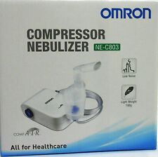 Omron NE-C803 Portable Nebuliser Compressor Respiratory Medicine Inhaler For All