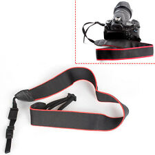 Dslr Camera Black Shoulder Neck Strap Belt Fit for Neck Strap Canon EOS 70D